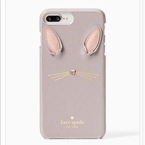 Kate Spade Bunny Applique iPhone 7/8 Plus Case